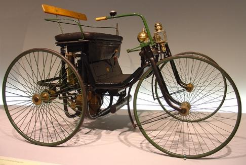 18 Daimler Motor Quadricycle